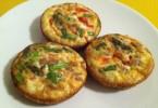 mafini od jaja sira i povrca