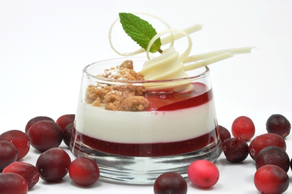 Peppermint-panna-cotta