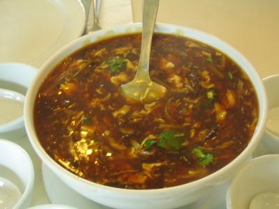 kineska ljuto kisela supa
