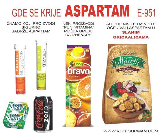 Gde se krije aspartam