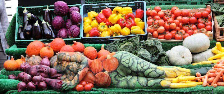 zdrava hrana povrce