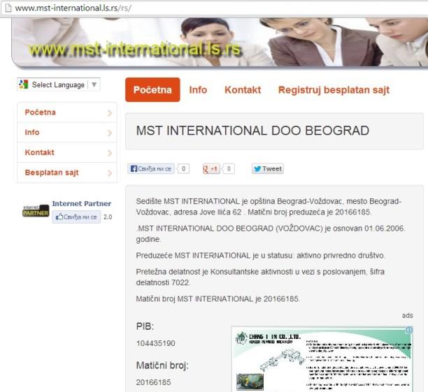MST srpski sajt