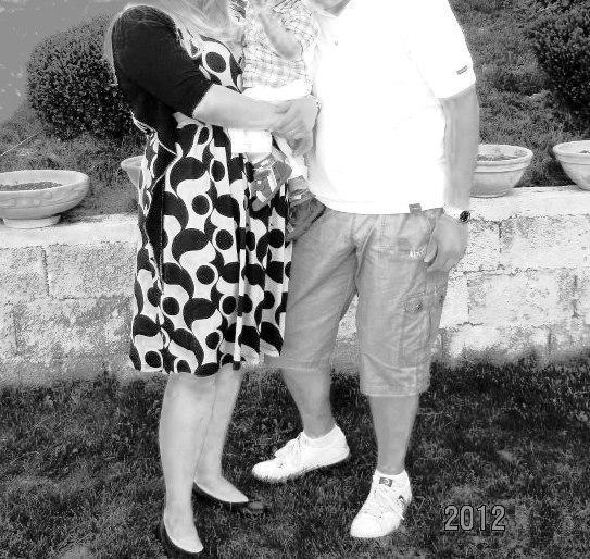 M.T. sa suprugom 2012.