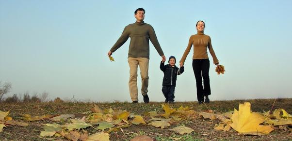 setnja porodica