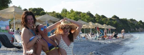 Zezanje na plazi