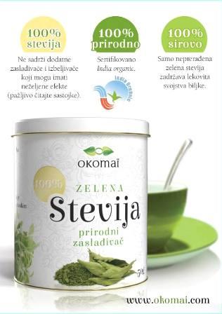 okomai stevija