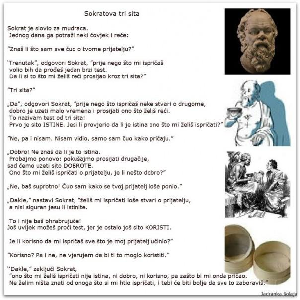 tri sita Sokrat