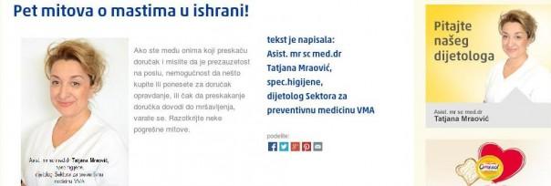 Tatjana Mraovic - Dijamant doktorka za margarin