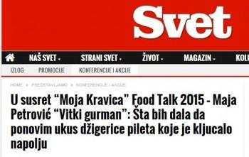 food talk svet