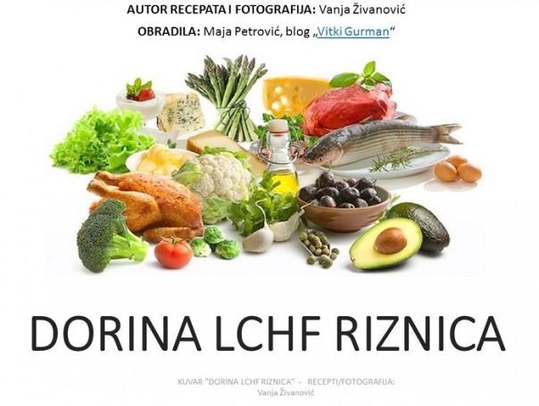 LCHF recepti , KUVAR - Dorina LCHF riznica