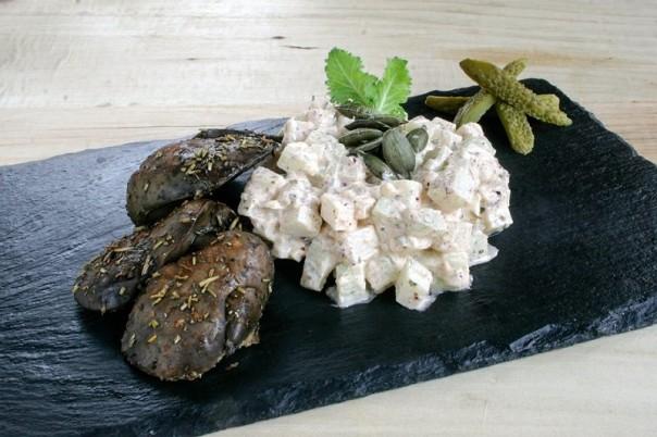 keleraba salata i pileca dzigerica