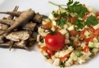 dimljena sardina i sopska salata 2