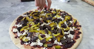 pizza di blacce